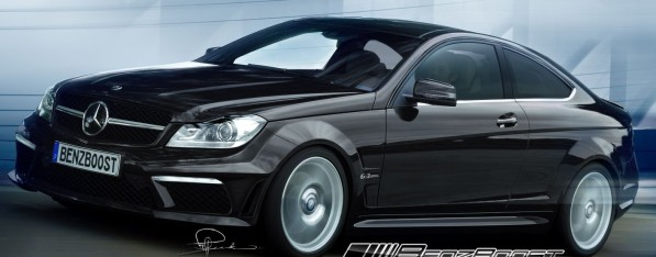 c63amgcoupe black series 597x234 Insider Info: C63 AMG Coupe Black Series to get 507 HP