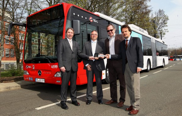 citaro 597x381 Citaro Hybrid Buses Deployed In Germany