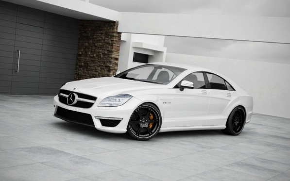 wheelsandmore gives 2011 mercedes cls63 amg new wheels and more 34132 1 597x373 Wheelsandmore transforms the CLS63 AMG