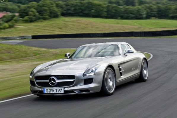 2015 residual value champion the sls amg 597x400 Mercedes Benz vehicles named 2015 Residual Value Giants