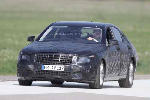 9316788861659390739 Spy photos of the next generation S Class