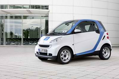 Car2go startet 2012 mit 200 smart electric drive und 200 Ladestationen in Stuttgart