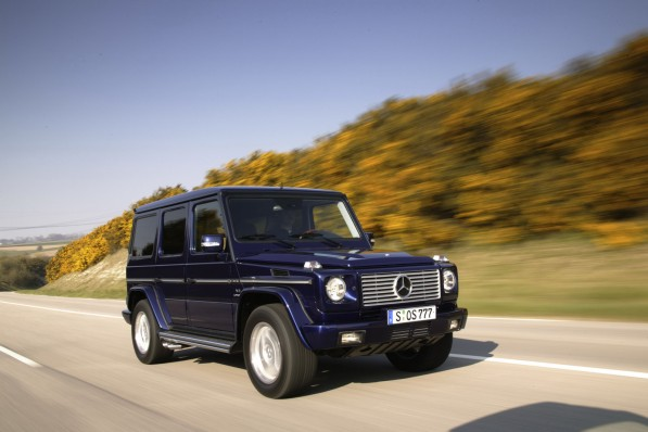 G 821 597x398 Mercedes Rumored To Be Looking At G55 Big Brother