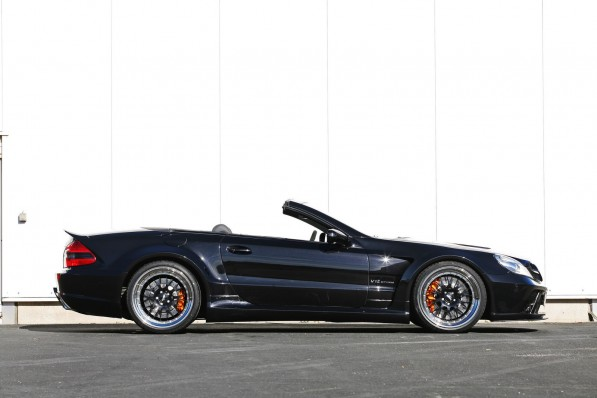 Mercedes SL Inden Design 4618 597x398 Inden Design Produces Its Vision Of A Black Series Convertible
