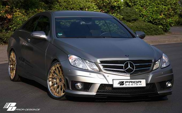 mercedes benz e klasse coupe by prior design gallery medium 1 597x373 Prior Design heats things up with the E Class Coupe