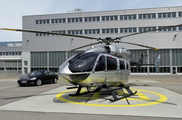 mercedes benz style helicopter ready to take off gallery medium 5 597x395 Mercedes Styled Eurocopter To Be Delivered To First Customer