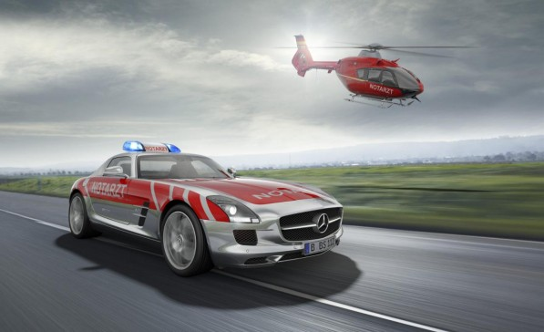 rettmobil 597x364 Mercedes To Present SLS Emergency Vehicle At RETTmobil 2011