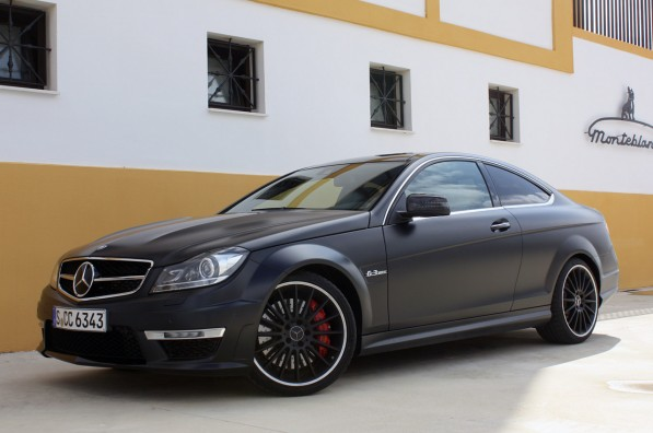 08 mercedes benz c63 amg coupe 597x396 2012 AMG C63 Will Leave Competitors In Its Dust