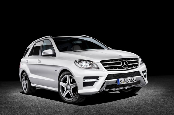 20 2012 mercedes benz m class 1 597x397 New M Class now available for order; market launch in November 2011