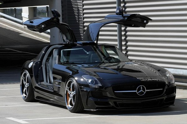 mec design mercedes sls amg released medium 23 597x397 MEC Design Bodykit Gives SLS AMG A More Aggressive Demeanor