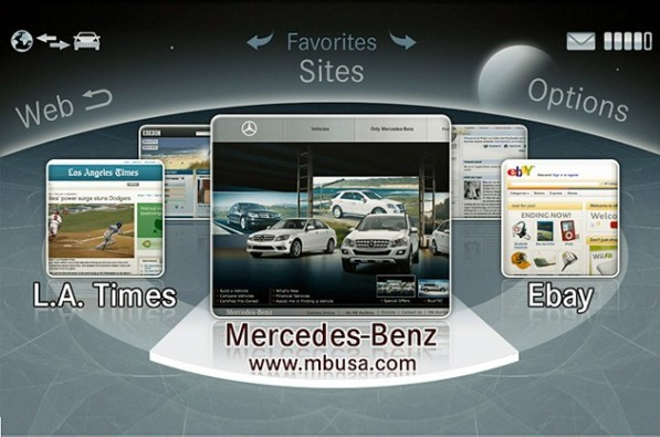 merc appstore 597x395 Mercedes Benz Wants its Own In Car App Store