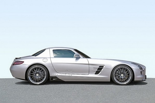 vath mercedes sls amg unleashed medium 4 597x397 Vath V63S Package Upgrades Tuner Favorite SLS AMG