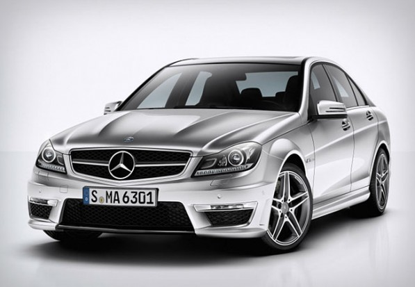 2012 Mercedes Benz C63 AMG Gear Patrol 1 597x413 Top 5 Business Cars of Today
