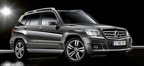 GLK Mercedes Benz 597x276 Chinas Mercedes Benz GLK in 3.0L V6 Engine