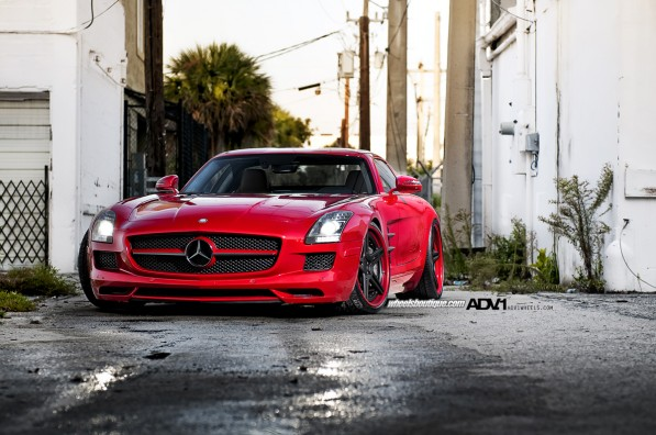 WheelsBoutique SLS AMG kit1 597x396 Mercedes Benz SLS AMG Bodykit by Wheels Boutique and ADV.1
