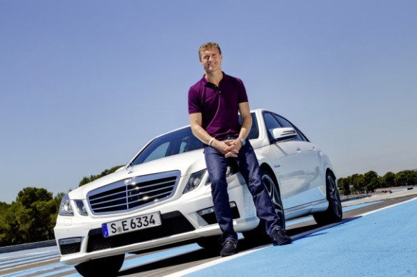 dc 597x397 F1 Driver Coulthard Now AMG UK Ambassador