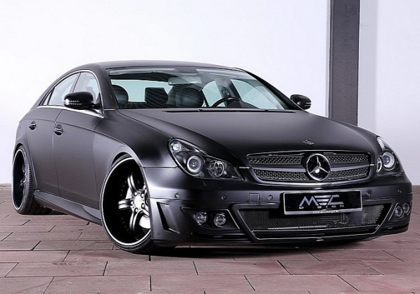 mec design mercedes cls 500 w219 is evil black medium 5 597x417 MEC Comes Out With Vader like CLS 500