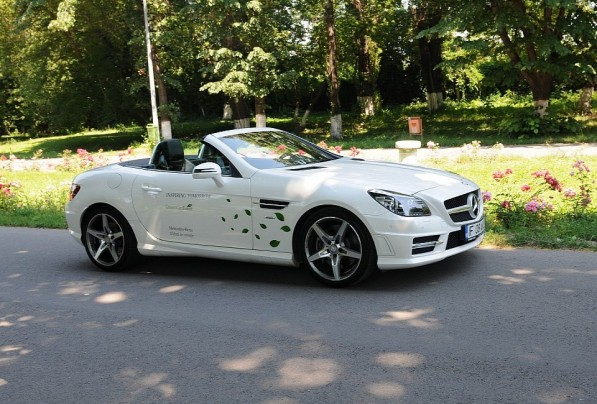 mercedes slk down under 597x404 Mercedes SLK Now Available In Australia