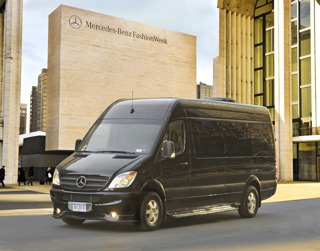 "The Mercedes-Benz Sprinter-based ""Brilliant Van"""