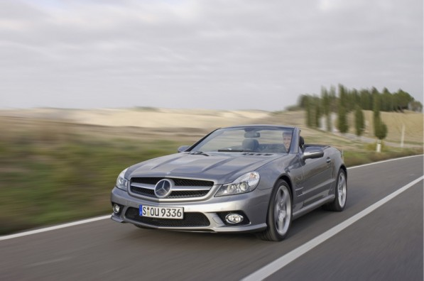 00002009mbslclass 597x396 What is the right car insurance for your Mercedes Benz?