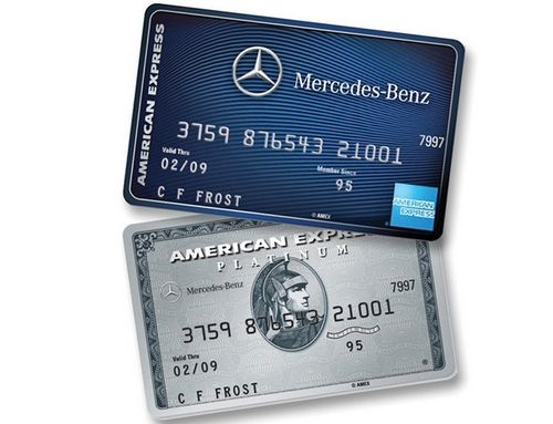 Mercedes Benz Partners With Amex For Its Affinity Card