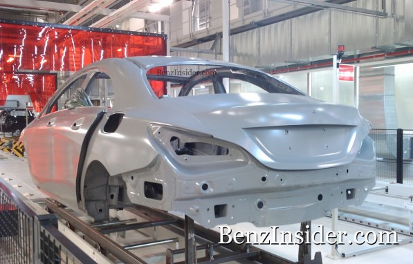 Mercedes Benz BLS or baby CLS concept 3 597x382 Exclusive: Spy shots of the upcoming baby CLS