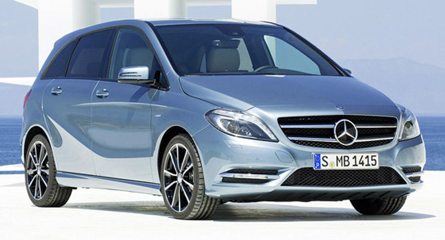 New Photos of the Mercedes-Benz B-Class Released