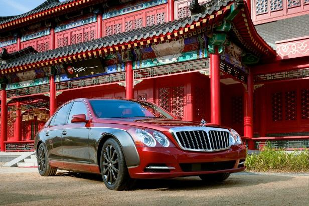 The Red Maybach 57S
