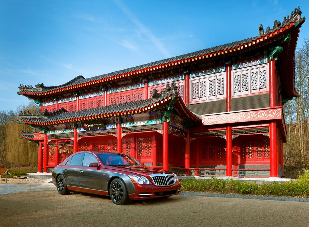 The Red Maybach 57S4 Photos: The Red Maybach 57S