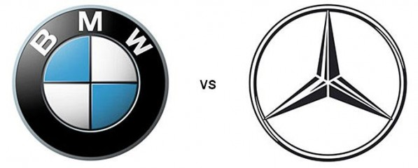 bmw vs mercedes 597x240 Mercedes To Lead Rival BMW In Sales Early Next Year