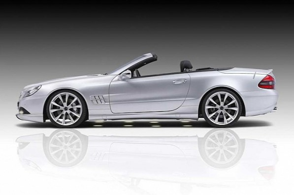 piecha design gives mercedes benz sl r230 a makeover medium 2 597x397 Piecha Design Gives Aging SL Class A Facelift