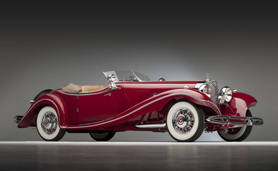 rare mercedes 500 k roadster could sell for at least 4m at auction 38067 1 1935 Berlin Auto Show Centerpiece For Sale