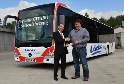 11A1040 The New Citaro Delivered to Lucke Reisen