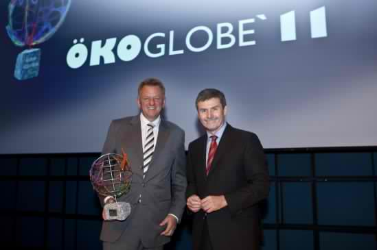 Daimler Buses and Trucks Won at the OkoGlobe 2011