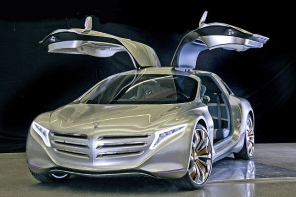 F125 01 597x397 Frankfurt bound F125! Hydrogen powered Coupe Concept Leaks