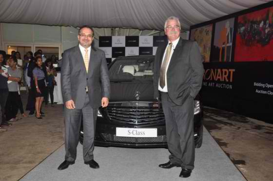 Mercedes Benz Partners with Saffronart to Promote Arts in India Mercedes Benz Partners with Saffronart to Promote Arts in India