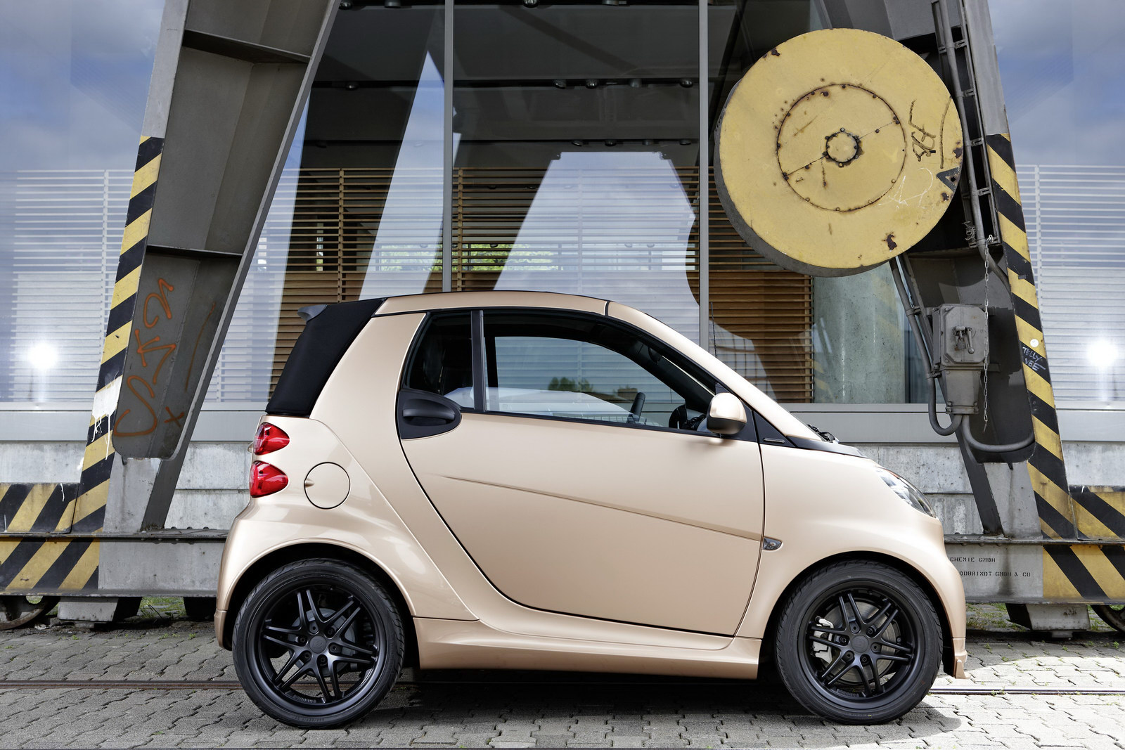 Smart Fortwo WeSC Smart and WeSC Creates the Brabus fortwo