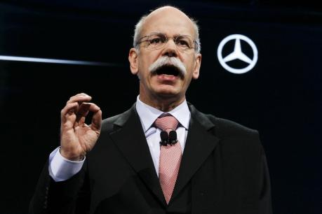 Zetsche Mercedes HA 307640c Daimler Chairman Reiterates Mercedes Goals In Letter