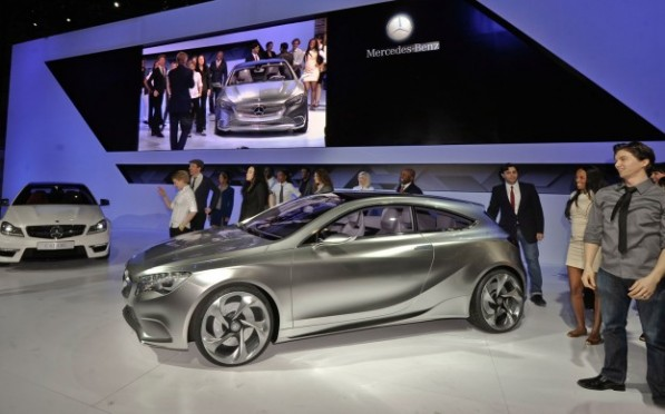 mercedes benz a class concept left side 623x389 597x372 Zetsche Outlines Mercedes Broad Strokes For The Future