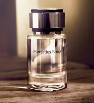 mercedes perfume Smell Mercedes Benz in the 2012