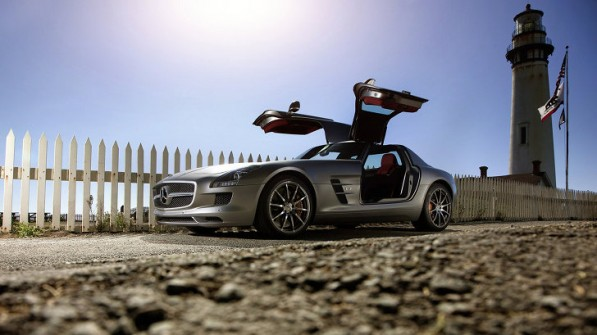 mercedes sls amg black series confirmed 38859 1 597x335 Europe Only SLS AMG Homologation Special To Be Released