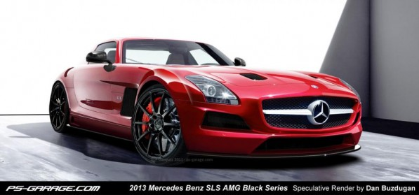 mercedes benz sls amg black series 597x279 Get Ready for the Mercedes SLS AMG Black Series