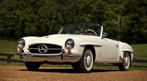 sheryl crow auctions her 1959 mercedes sl raises 260000 for joplin schools 38941 7 597x330 Singer Sheryl Crow Auctions Her 65 SL For Charity