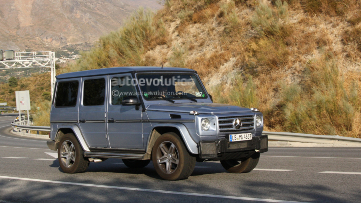 2012 AMG G55 Pics Don't Show Engine Rumble Underhood - BenzInsider ...
