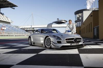 Mercedes-Benz SLS AMG GT3's Guest Driver – Mika Hakkinen