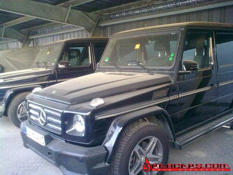 Spyshots of the Mercedes-Benz G65 AMG