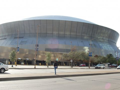 Superdome The Home of New Orleans Saints is Now Known as the Mercedes Benz Superdome