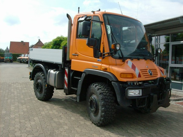 Unimog U 400 Now Rolling in Russia Unimog U 400 Now Rolling in Russia