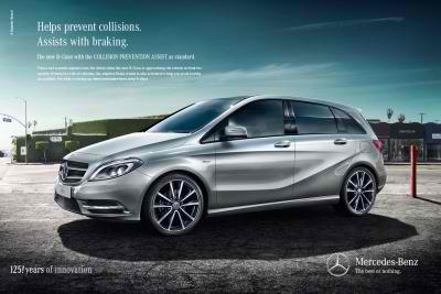 11A1195 New Mercedes Benz B Class: The Safest Car Around for Young Families