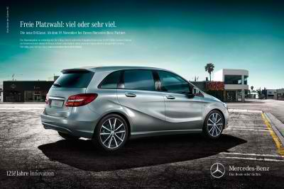 new mercedes benz b class the safest car around for young families a. Black Bedroom Furniture Sets. Home Design Ideas